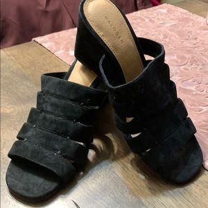 Brand pair of black suede Halogen Slip on🎉
